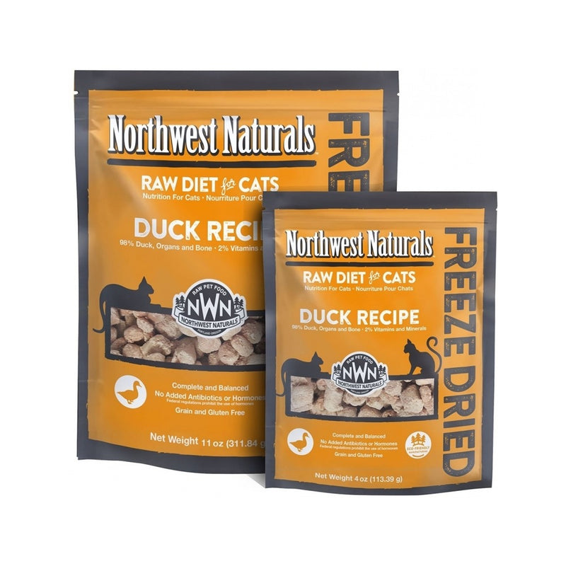 Feline Freeze Dried Duck Nibbles, 11oz