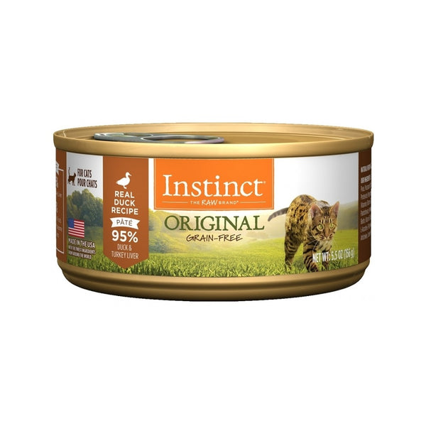 Feline Instinct Original G.F Duck Can, 3oz