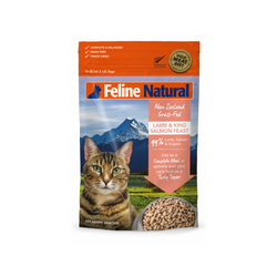 Feline Freeze Dried Lamb & King Salmon Feast, 320g