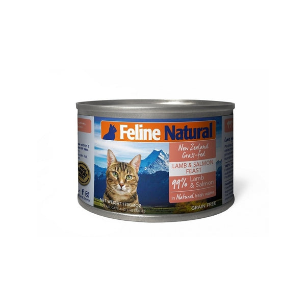 Feline Canned Lamb & Salmon, 170g