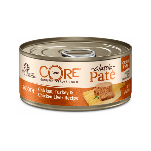 Feline Core Pate Chicken, Turkey & Chicken Liver Weight : 5.5oz