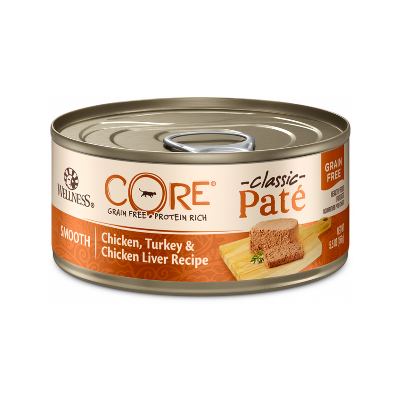Feline Core Pate Chicken, Turkey & Chicken Liver, 5.5oz