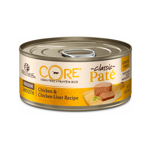Feline Core Pate Indoor Chicken & Chicken Liver, 5.5oz