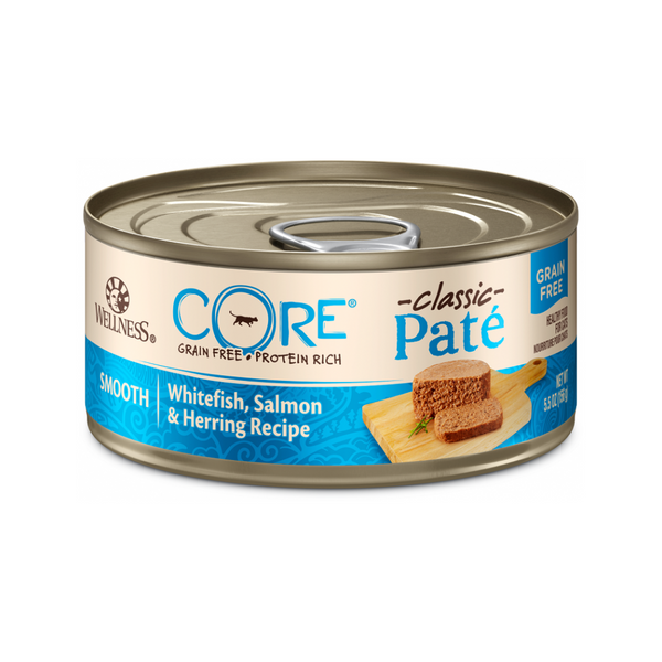 Feline Core Pate Whitefish, Salmon & Herring, 5.5oz