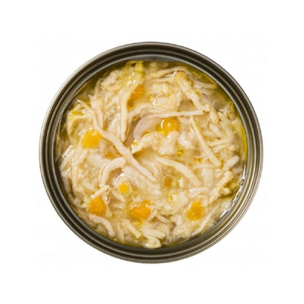 Feline PURE Shredded Chicken w/ Pumpkin in Broth, 70g
