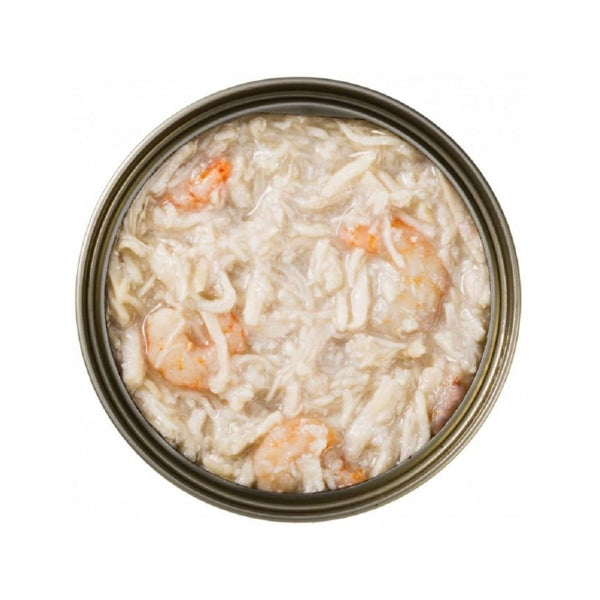 Feline PURE Shredded Chicken w/ Shrimp in Gravy, 70g