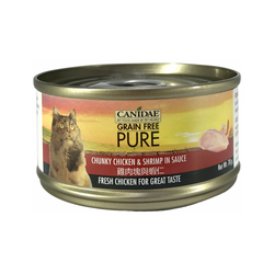 Feline PURE Chunky Chicken & Shrimp Sauce, 70g