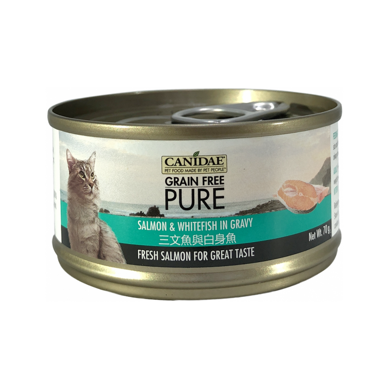 Feline PURE Salmon & Whitefish in Gravy Weight : 70g