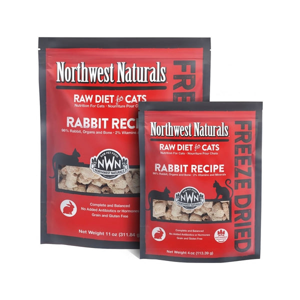 Feline Freeze Dried Rabbit Nibbles, 11oz