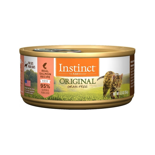 Feline Instinct Original G.F Salmon Can, 3oz