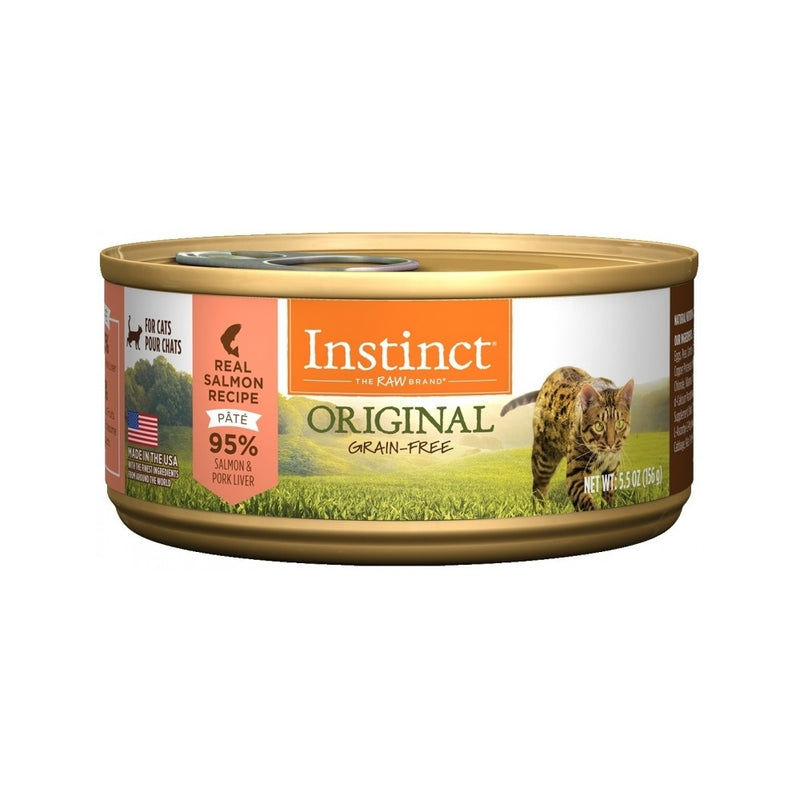 Feline Instinct Original G.F Salmon Can Weight :  3oz