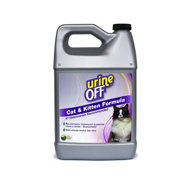 Cat & Kitten Stain & Odor Remover, 1 Gallon / 3.78 Liter