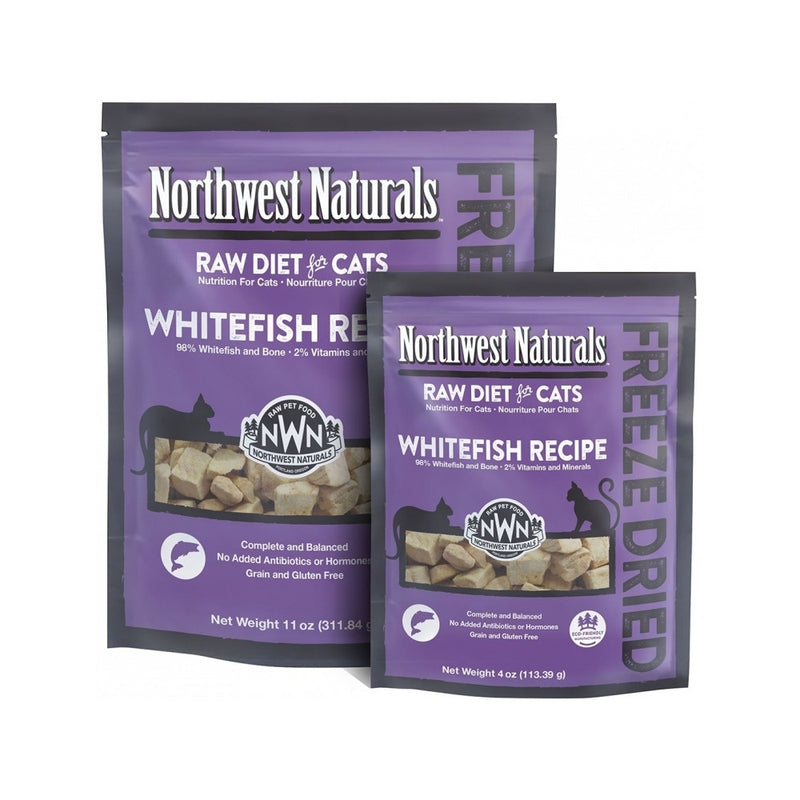 Feline Freeze Dried Whitefish Nibbles, 11oz
