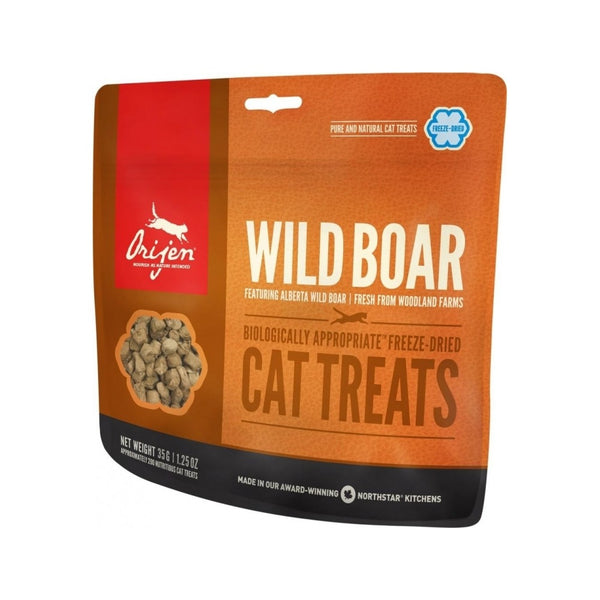 Feline Grain-Free Wild Boar Treats, 1.25oz