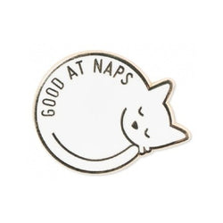 Good At Naps Enamel Pin