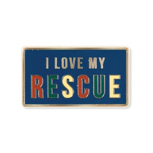 My Rescue Enamel Pin