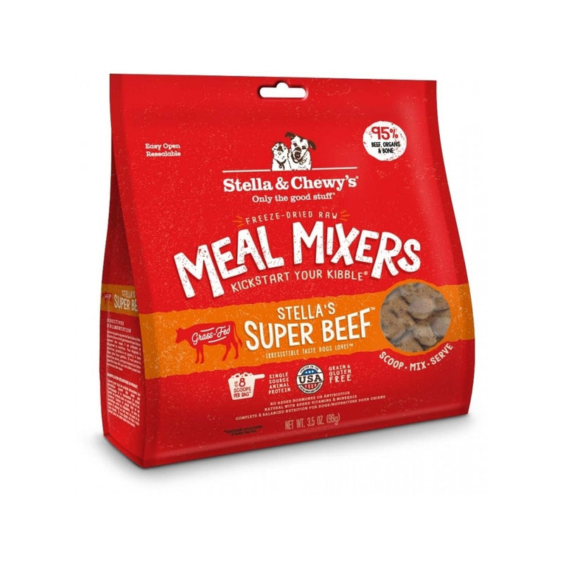Freeze Dried Raw Meal Mixer Beef, 18oz