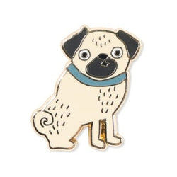 Weird Pug Enamel Pin