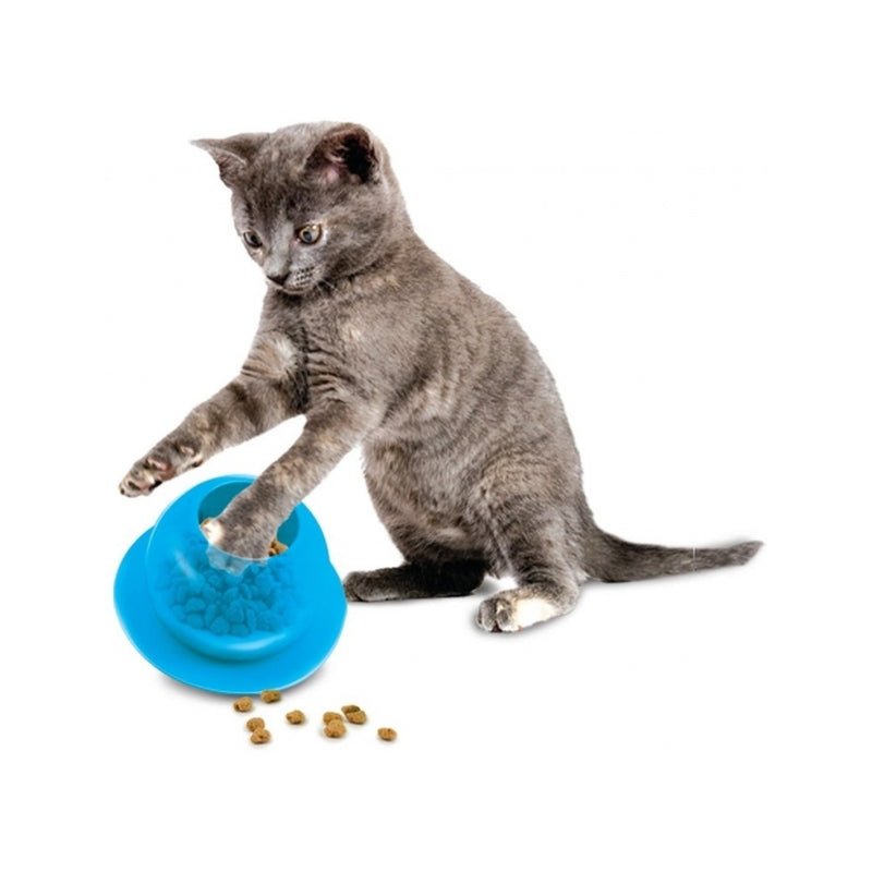 Fishbowl Cat Feeder Toy