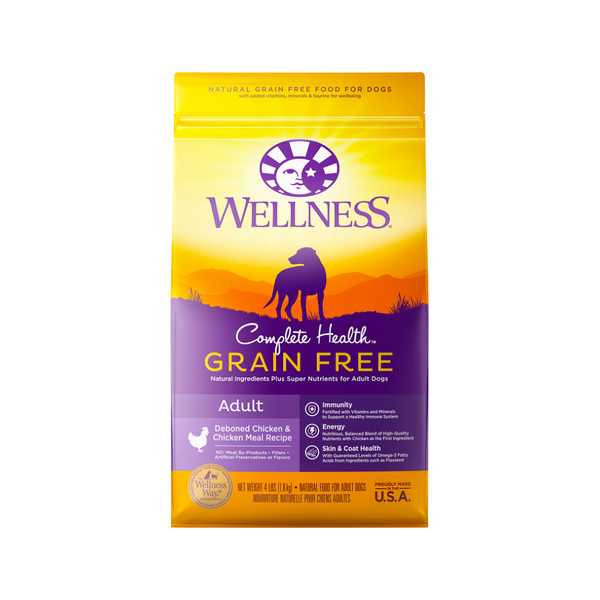 Grain Free Adult Chicken, 4lb