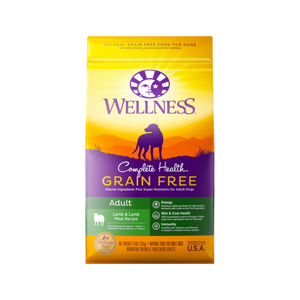 Grain Free Adult Lamb, 4lb