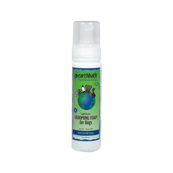 Green Tea Leaf Grooming Foam for Dogs, 8oz