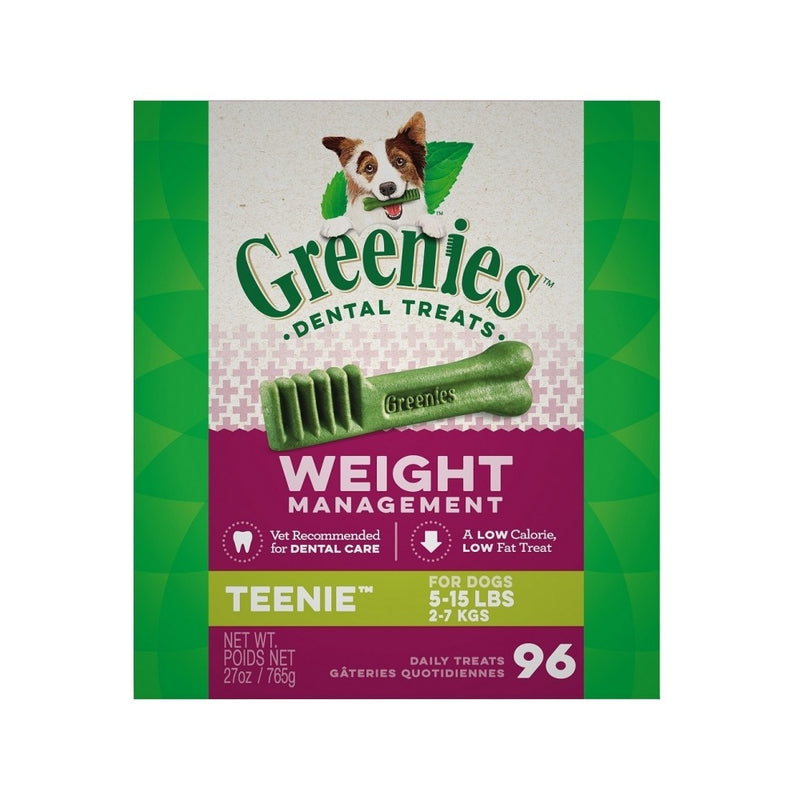 Weight Management Dental Chews, Teenies, Count:  96, 27oz