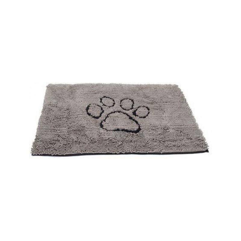Dirty Dog Doormat Color : Grey Size : 35x26""