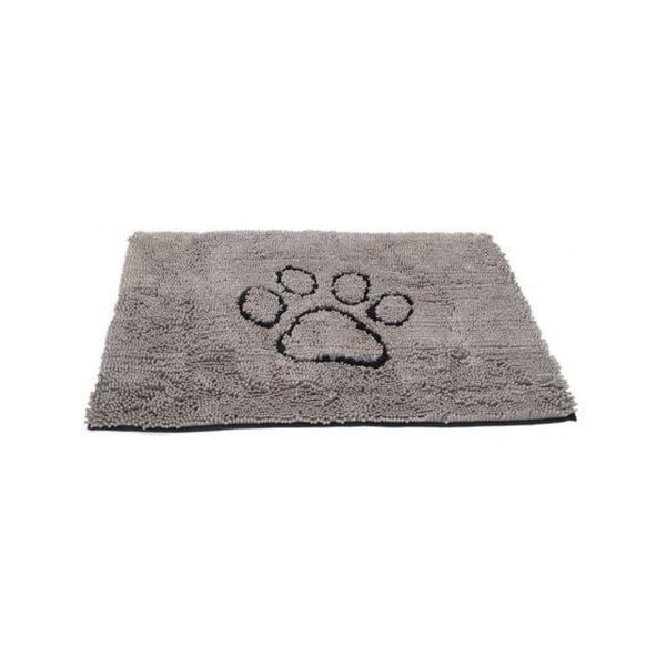"Dirty Dog Doormat, Color Grey, 31""x20"""