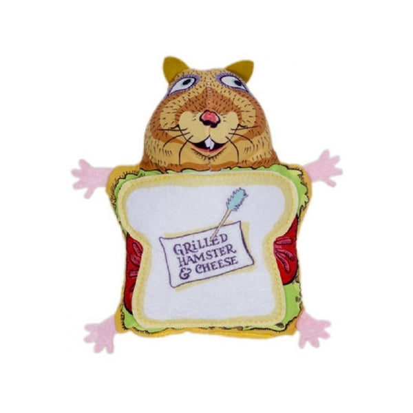Grilled Hamster and Cheese, 4.5""