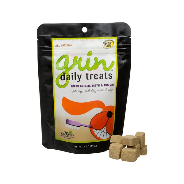 Grin Dental Soft Chews for Dogs Weight : 4oz / 23 count