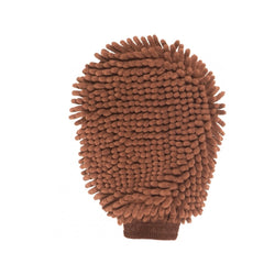 Dirty Dog Grooming Mitt, Color: Brown