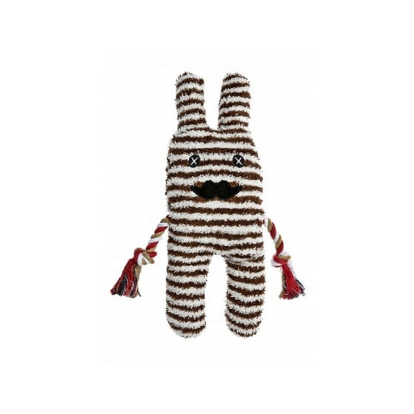Gus Greybar Plush Toy For Dogs, Color Brown/White, 13""