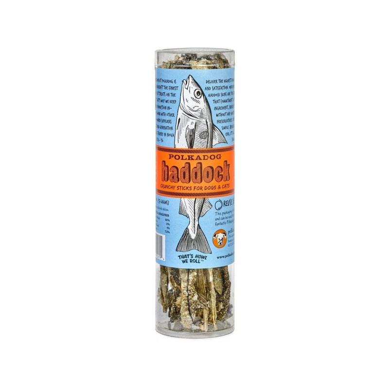 Haddock Crunchy Sticks for Dogs & Cats Weight : 2oz