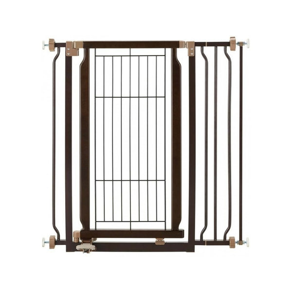 Hand-Free Pet Gate 72-94.5cm, Coffee