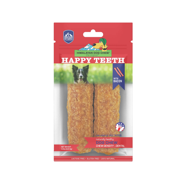 Happy Teeth Density Chew w/ Bacon 2pcs