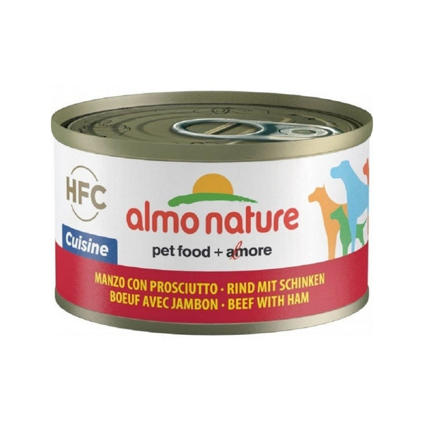 Beef & Ham Natural Canned Dog Food, 95g