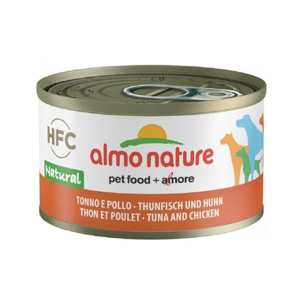 Chicken & Tuna Natural Canned Dog Food, 95g