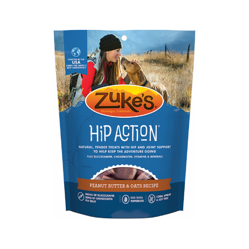 Hip Action in Peanut Butter & Oats, 6oz
