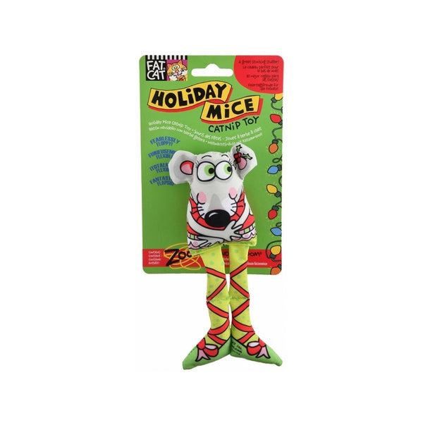 Holiday Mice - Elf Catnip Toy