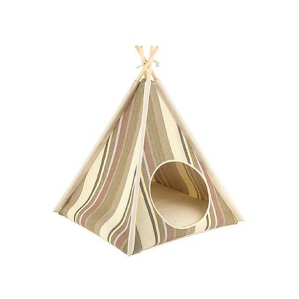 Horizon Cat Teepee, Color: Seacoast