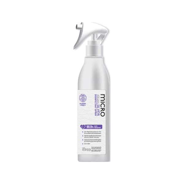 99.9% Anti-Bacterial Micro Silver Disinfectant Spray, 300ml
