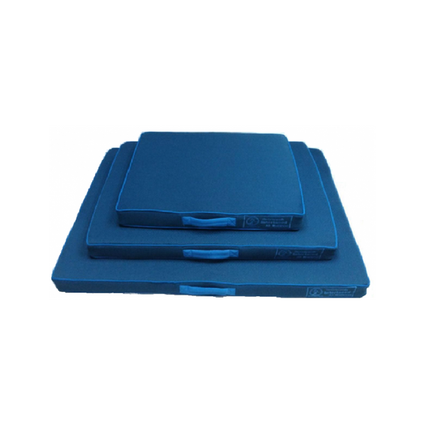Interlaced Blue Air Mattress Size : Medium
