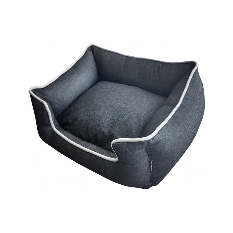 Frenchie Lounger Bed Color : Jet (Black) Size : Large