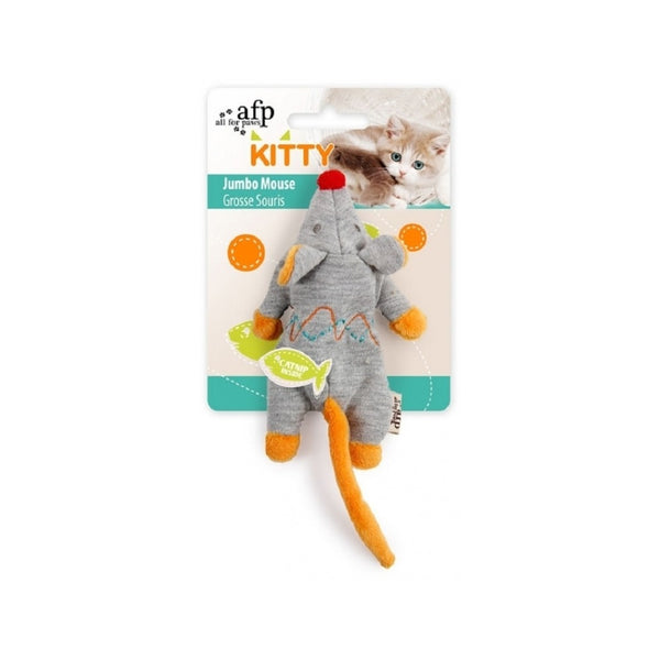 Kitty Jumbo Mouse Color : Grey