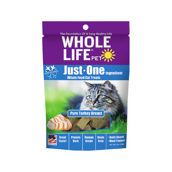 Pure Turkey Breast Cat Treats, 1oz