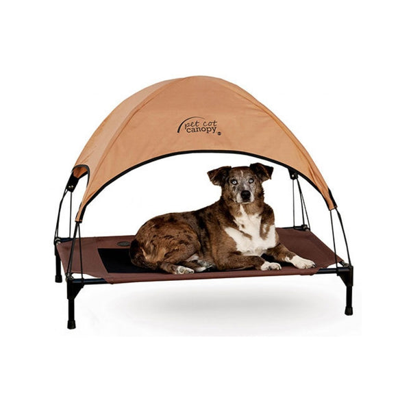 Pet Cot with Canopy Size : Medium
