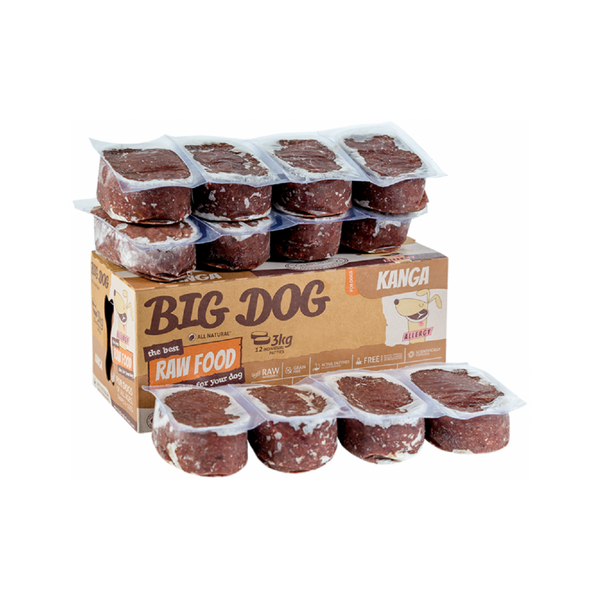 Allergy Range Kanga Raw Frozen, 12x250g