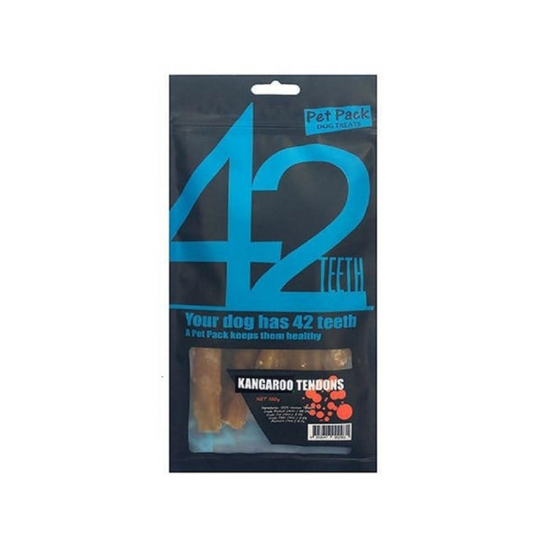 42 Series Treats Kangaroo Tendons Weight : 70g