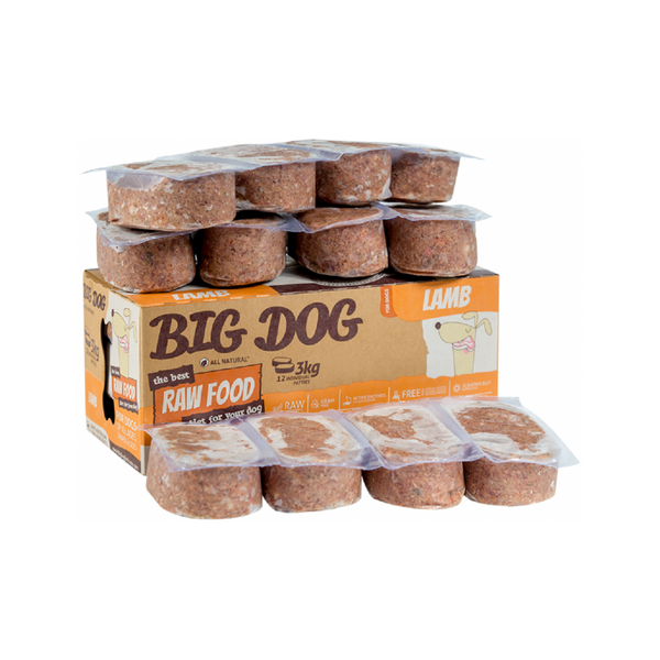 Standard Range for Dogs - Lamb Raw Frozen, 12x250g